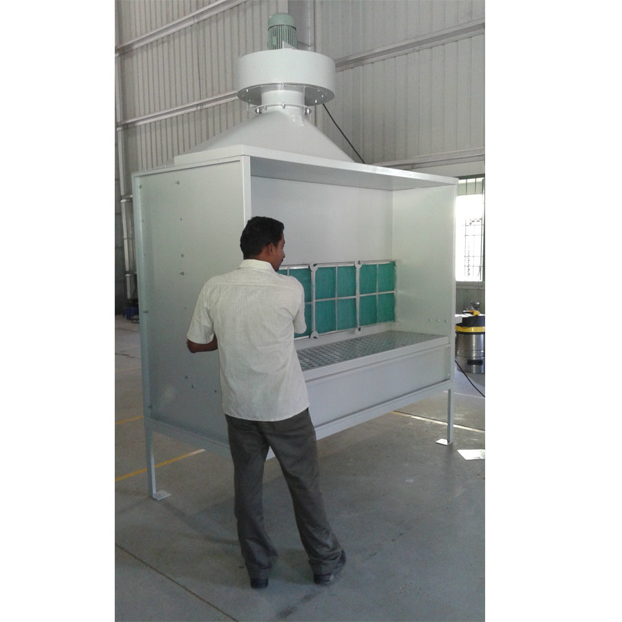 Dry Spray Paint Booth