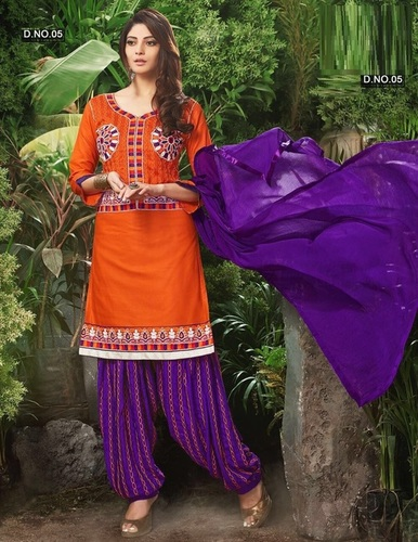 Latest Designer Patiyala Salwar Kameez