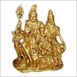 Brass Shiva Parvati Statues