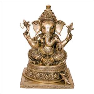 Brass Ganesh Ji Statues