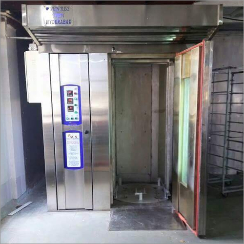 Single Trolley Rotary Rack Oven