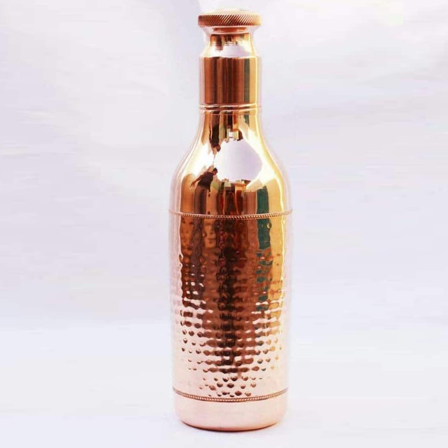 Champagne Copper Bottle
