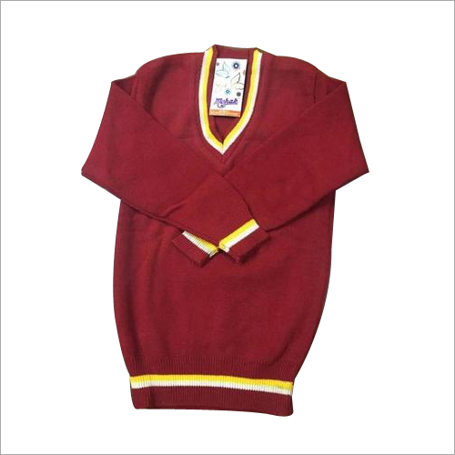 Knitted School Sweater