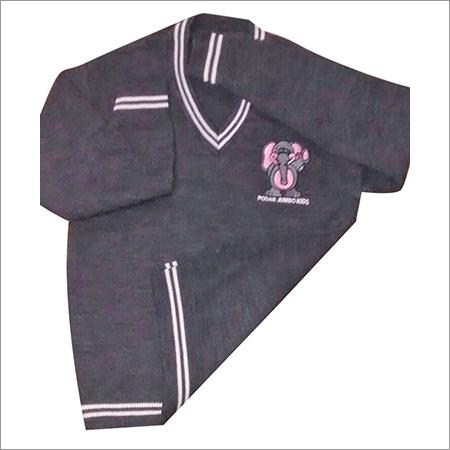 Kids School Plain Sweater