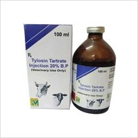 Veterinary Tylosin Tartrate Injection 20%