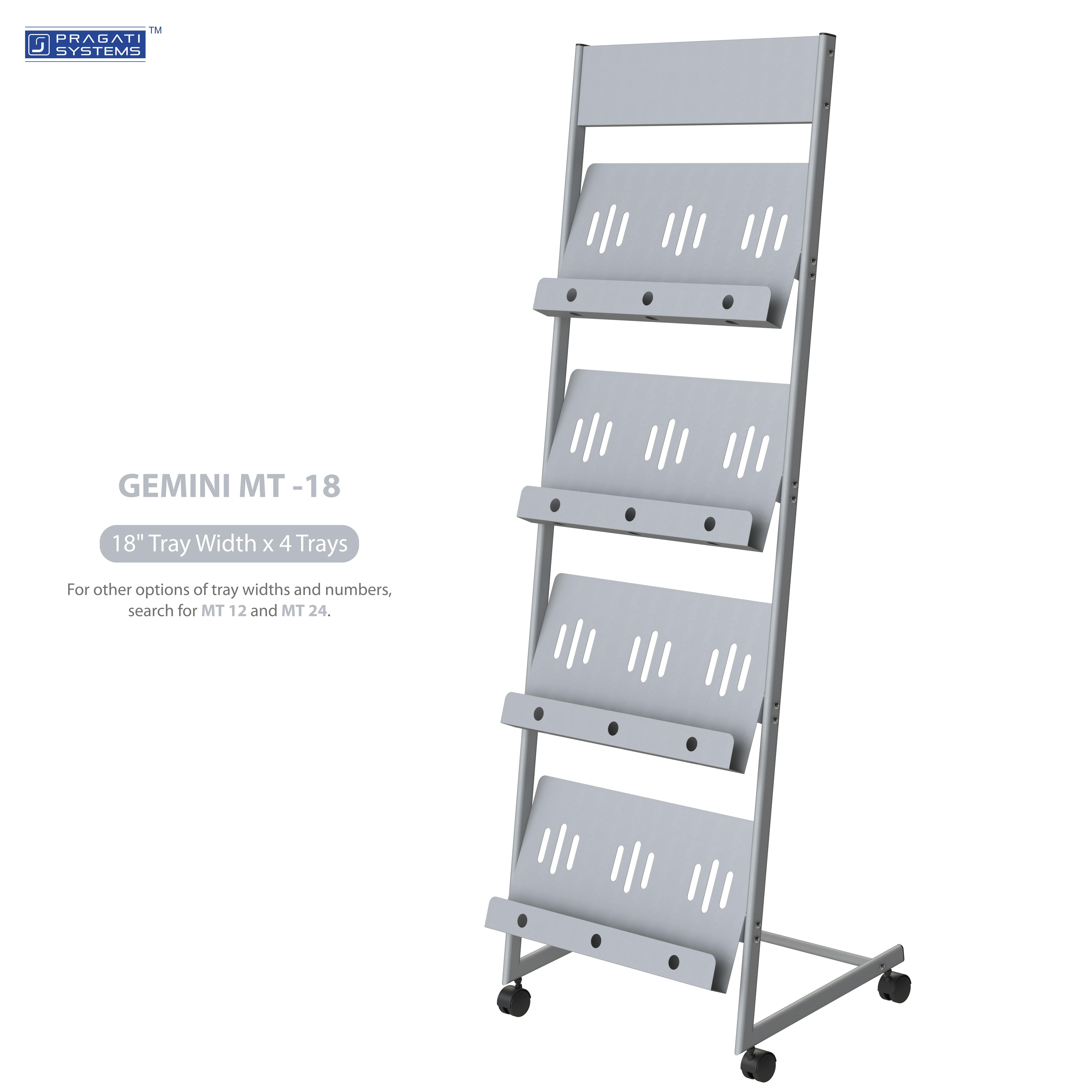 MT-18 Literature Rack & Magazine Display Stand