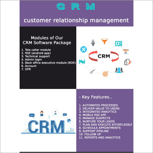 CRM System Software