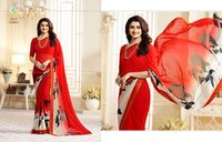 Faux Georgette Saree