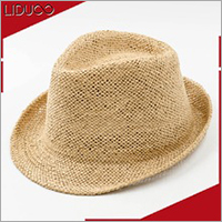 Wholesale custom women sun wide brim straw handmade felted hats