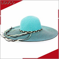 summer women mexico sombrero folding beach wide brim straw hat