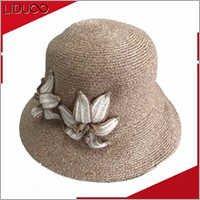 wholesale custom winter warm blank plain crochet bucket hat