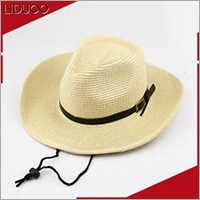 wholesale custom kids floppy sombrero panama bands cowboy straw hat