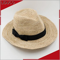Wholesale factory summer mini panama sombrero fedora straw hat