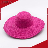 Festival women floppy satin church straw pink fascinator hats