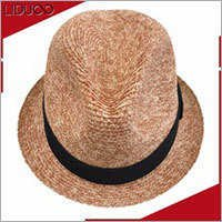 China wholesale summer women fedora panama ladies fashion hats
