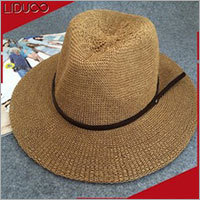 Wholesale promotional mexico panama fedora straw baby sombrero hat