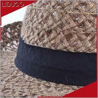 Cheap custom men folding trilby fedora straw children felt hats