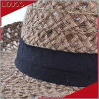 Cheap custom men folding trilby fedora straw children felt hats