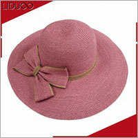 Custom summer sun floppy panama fedora decorate mexican straw hats