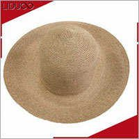 China wholesale sun floppy palm leaf panama cheap mens straw hats