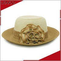 summer church party lady women bridal sinamay tyrolean costume hat