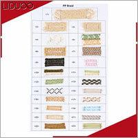 Plastic Paper Braid Ribbon
