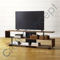 Wood & Metal Tv Cabinet