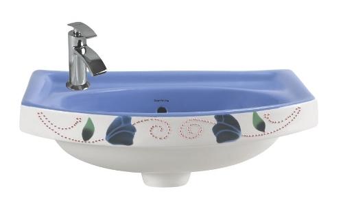 Designer Printed Vitrosa Wash Basin