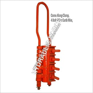 Comealong Clamp Four Bolted for Earth Wire