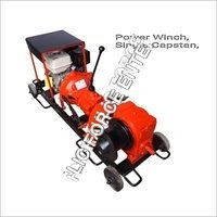 Power Winch Machine