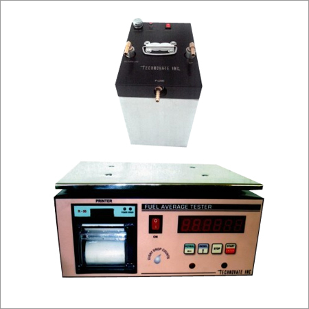 Fuel Average Tester with Digital Printer