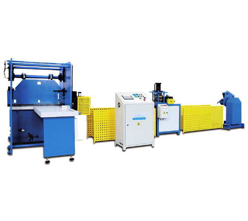 Automatic Double Hole Steel Strip Production Line