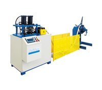 Double Hole Steel Strip Machine