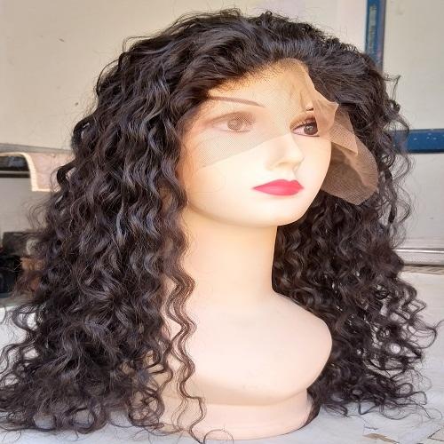 Virgin Indian Curly Hair wig