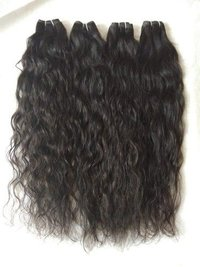 Indian Natural Color Wavy Human Hair