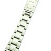 Stainless Steel 3-Link solid band with SQ2 fold over clasp