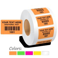 Customized Barcode Stickers