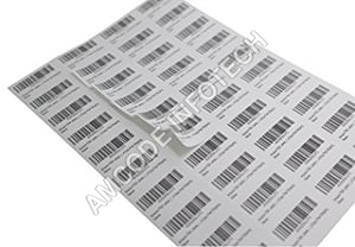 Self Adhesive Barcode Stickers