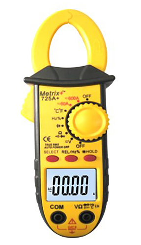 DCA-ACA Clamp Meter 725A+