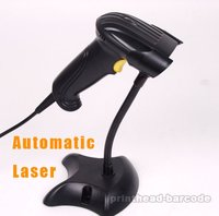 Automatic Laser Barcode Scanner