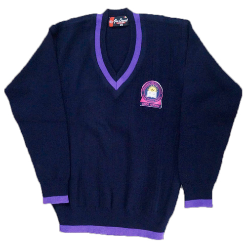 Full Sleeve School Sweater