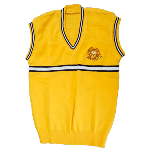 Colorful Vest School Sweater