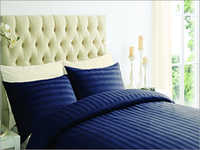 Navy Blue Color Bed Sheet