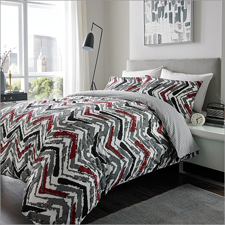 Brushed Chevron Bed Sheet