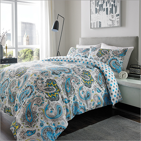Brushed Paisley Bed Sheets