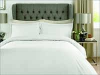 Checks White Bed Sheet