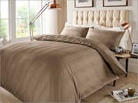 Stripe Deep Taupe Bed Sheet