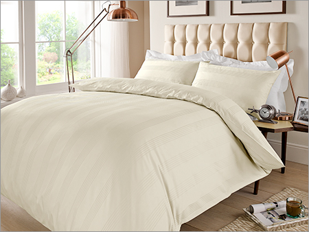 Stripe Ivory Bed Sheet