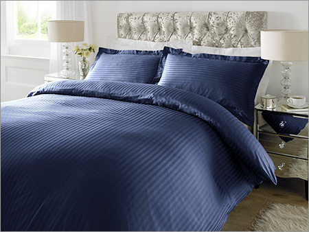 Navy Blue Plain Bed Sheet