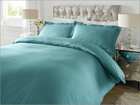 Teal Color Plain Bed Sheet